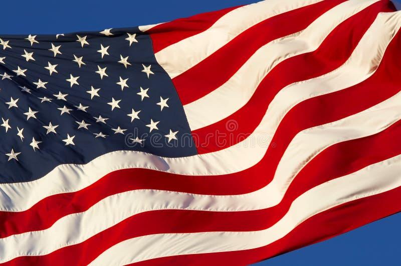 De wind van de vlag stock fotografie