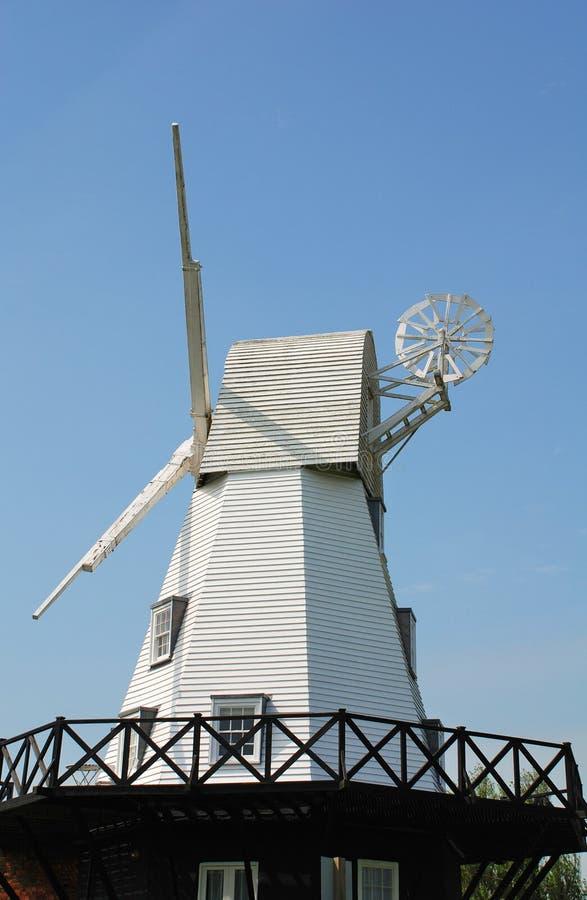 De Windmolen van de rogge stock foto