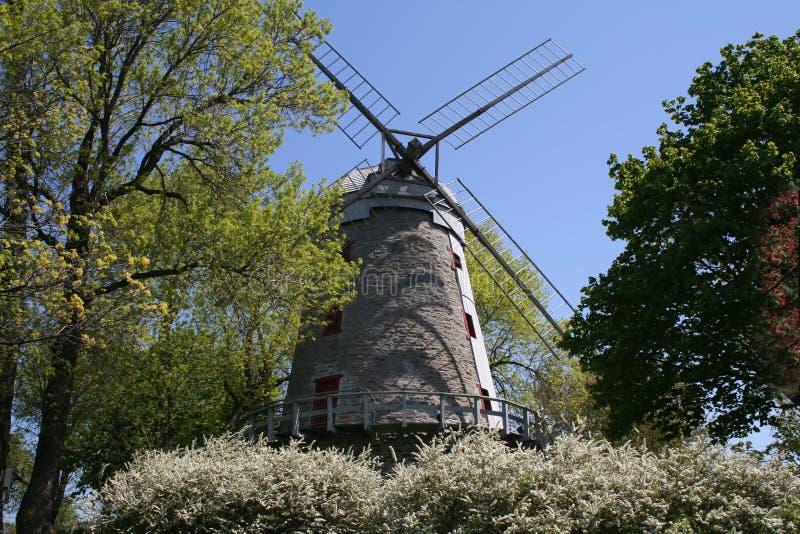 De windmolen van Fleming. stock foto