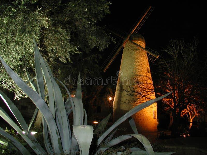 De Windmolen van Montifiore stock fotografie