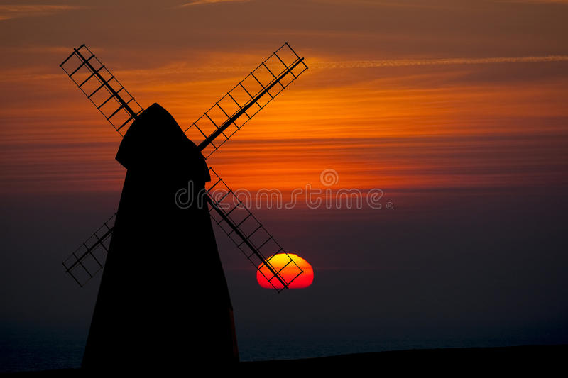 De Windmolen van Rottingdean stock foto's