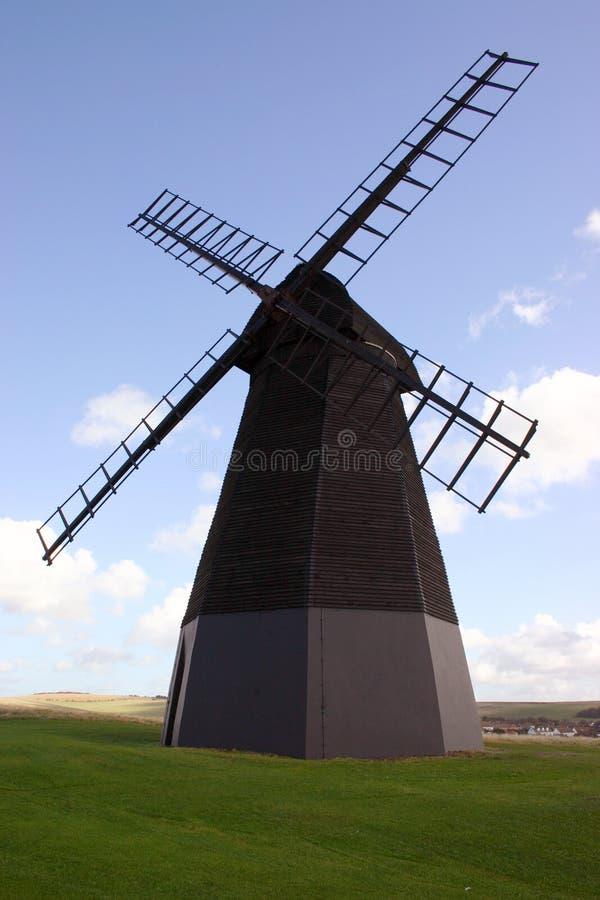 De Windmolen van Rottingdean stock fotografie
