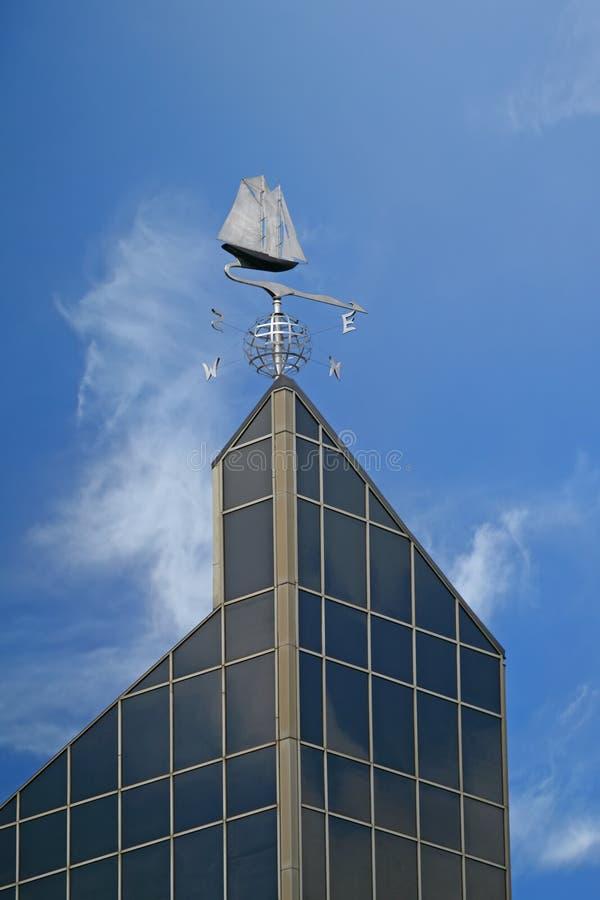 De Windwijzer van Bluenose stock foto