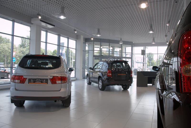 De winkel van auto's royalty-vrije stock afbeelding