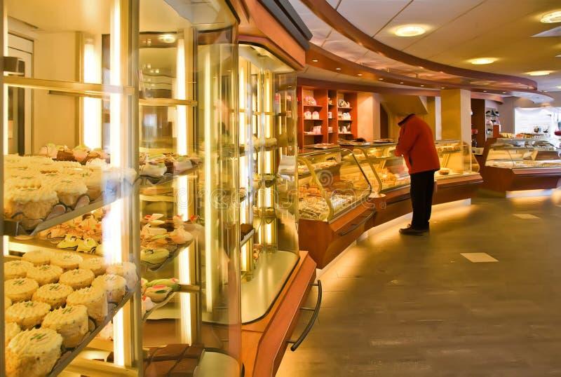 De winkel van de bakkerij stock fotografie