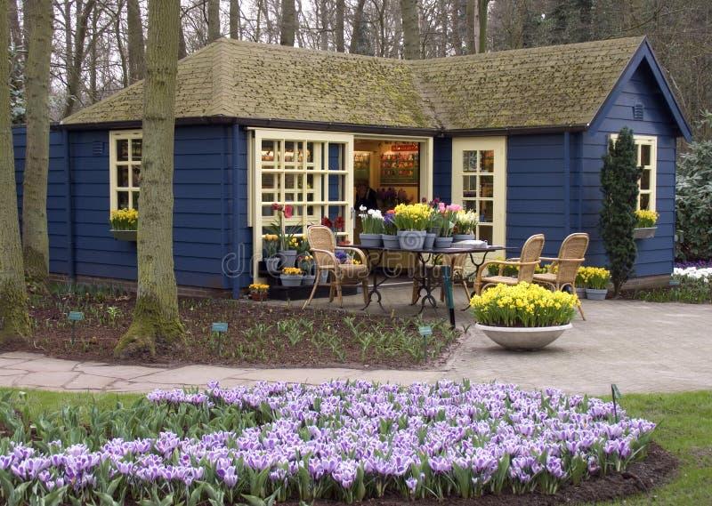 De winkel van de bloem stock afbeeldingen