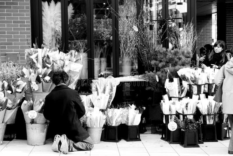 De winkel van de bloem royalty-vrije stock foto's
