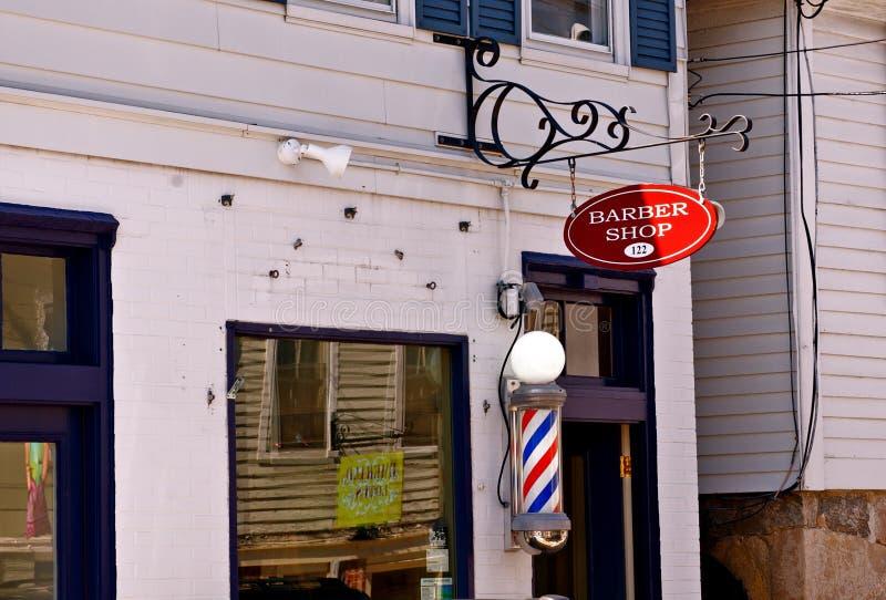 De Winkel van de kapper royalty-vrije stock fotografie