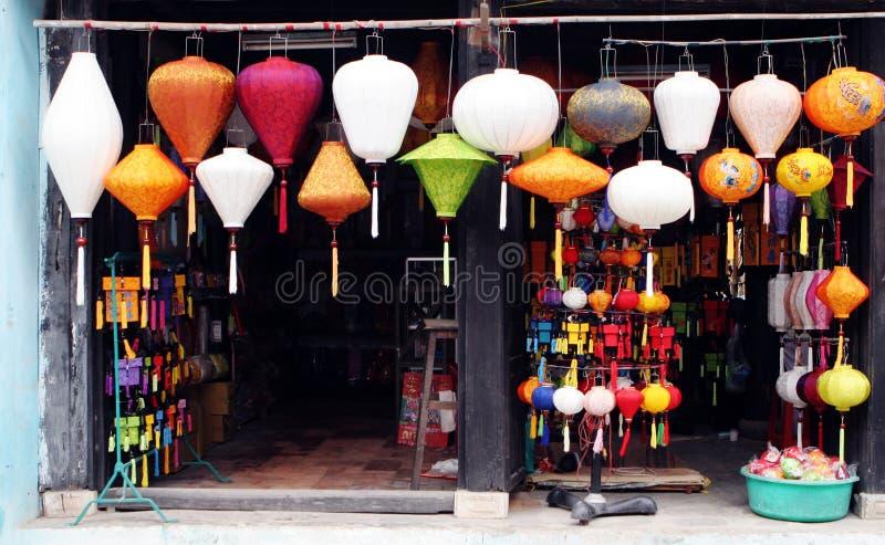 De winkel van de lantaarn royalty-vrije stock fotografie