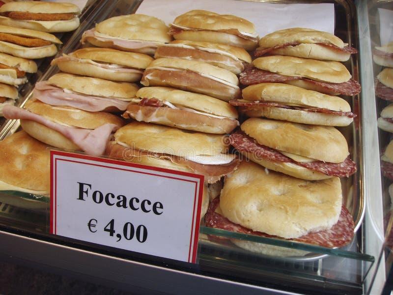 De winkel van de sandwich royalty-vrije stock foto's