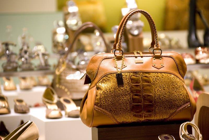 De Winkel van de zak en van de Schoen royalty-vrije stock foto