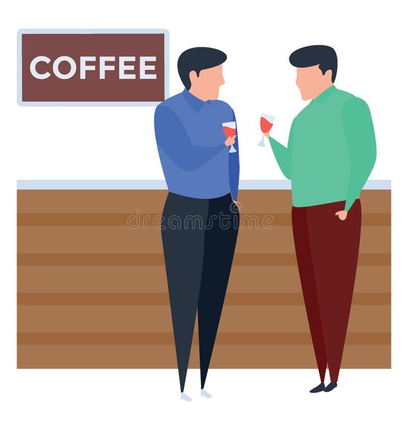 De Winkel van de koffie vector illustratie