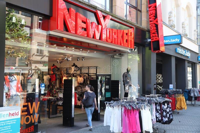 De winkel van Newyorker royalty-vrije stock foto's