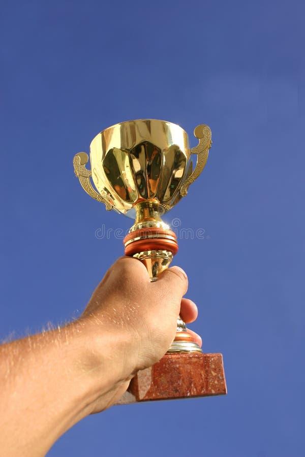 De winnaar stock afbeeldingen