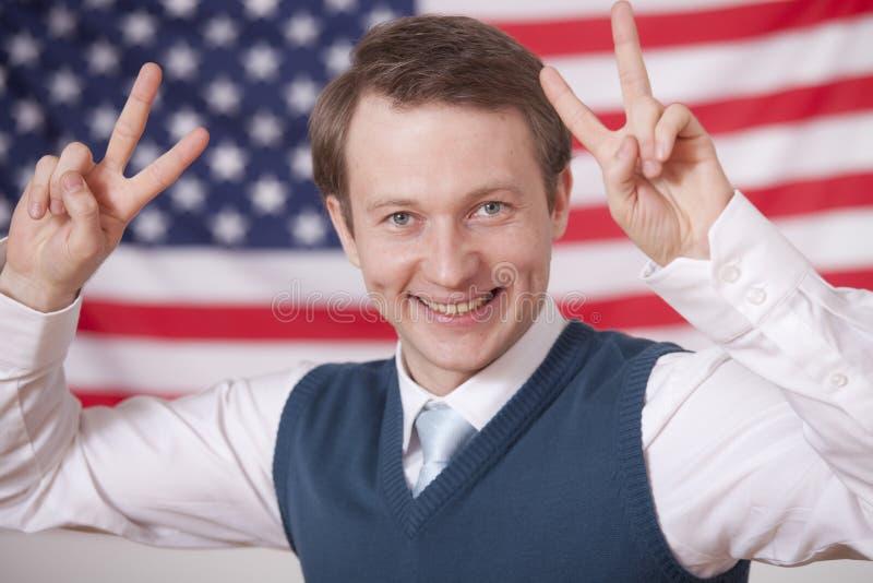 De winnaar van de politiek royalty-vrije stock foto