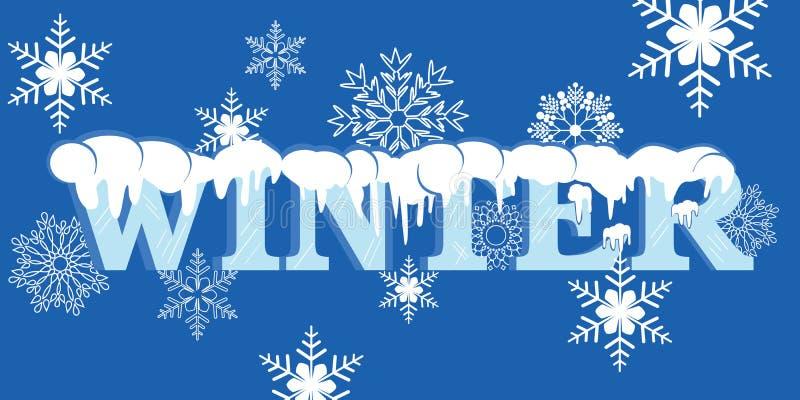 De winter #2 vector illustratie