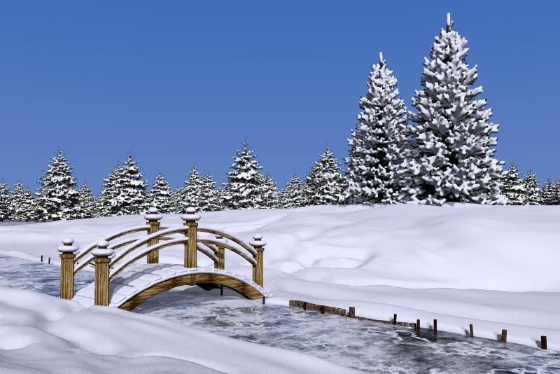 De winter royalty-vrije illustratie