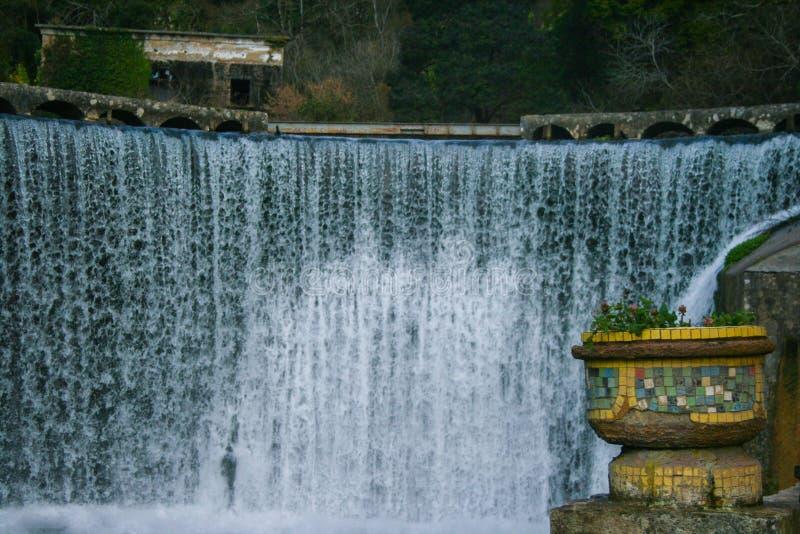 De winter in Abchazië royalty-vrije stock foto's