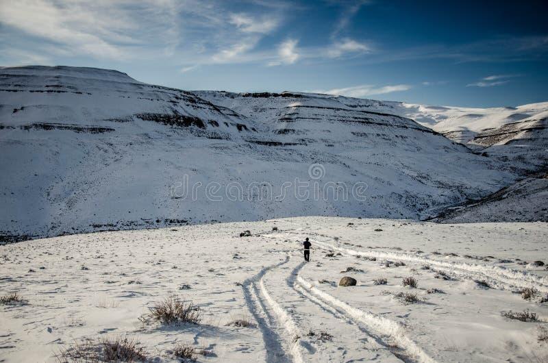 De winter in Amerika stock foto's