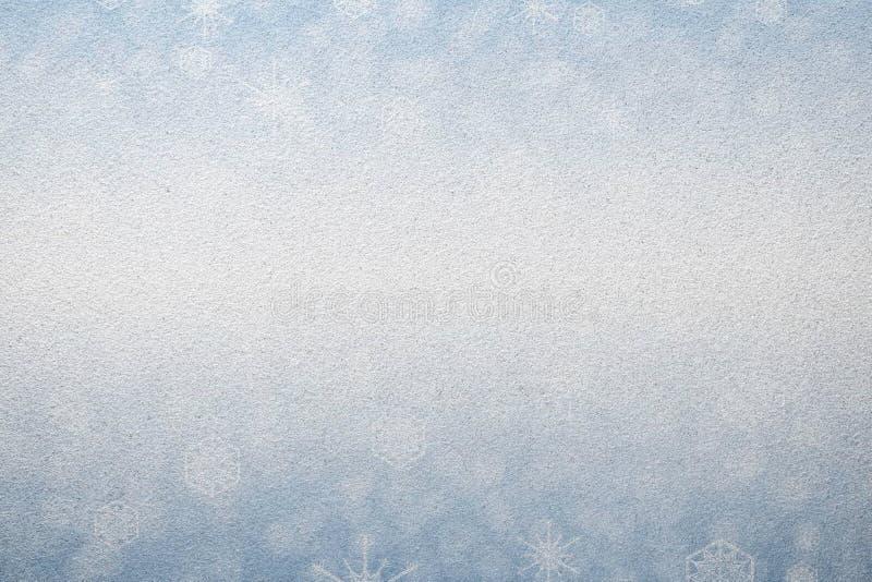 De winter berijpte glastextuur als achtergrond stock afbeeldingen