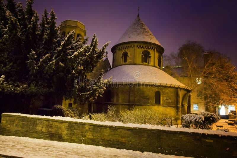De winter in Cambridge stock foto