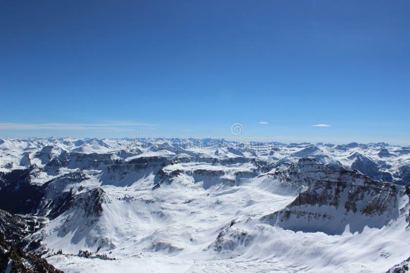 De winter in Colorado Rocky Mountains, Sangre DE Cristo Range stock foto's