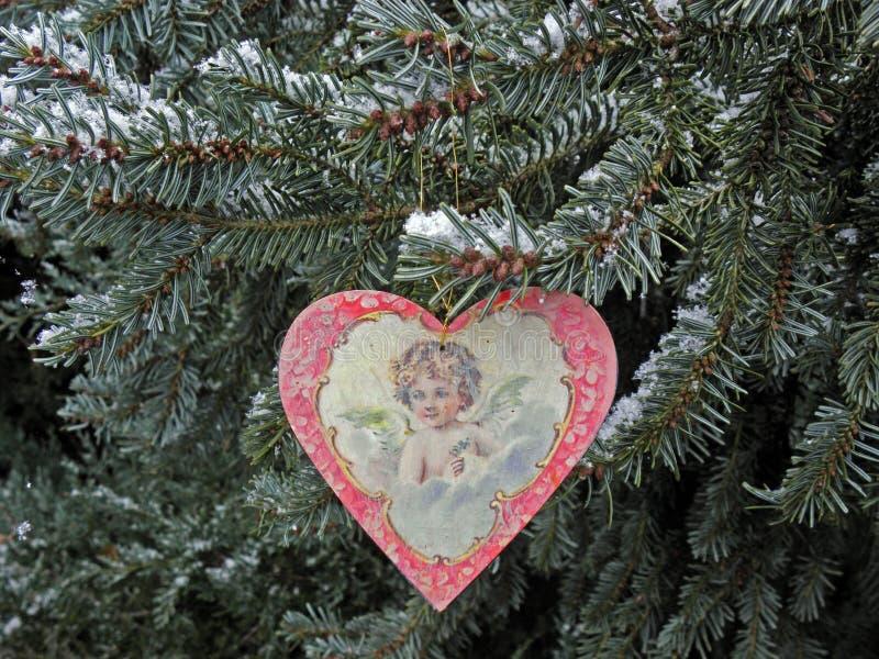 De winter door Komst, Kroatisch platteland, Kerstmisdetails, 6 royalty-vrije stock afbeelding