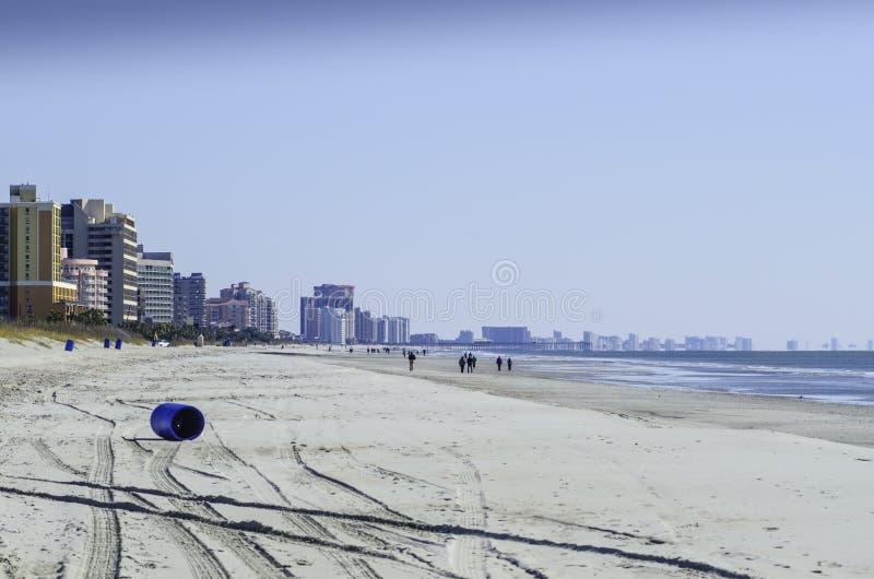 De winter in Myrtle Beach 2 stock afbeelding