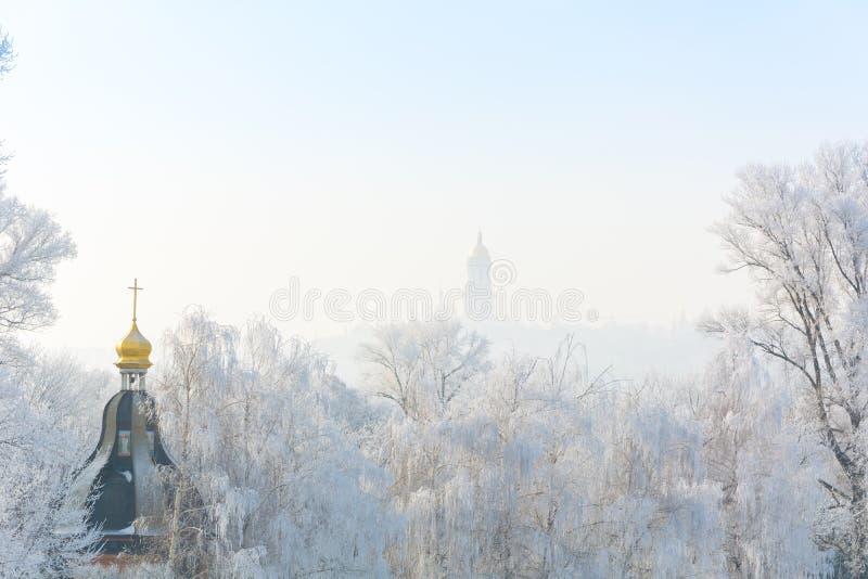 De winter` s verhaal stock foto