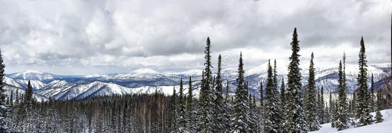 De winter Shoria royalty-vrije stock fotografie