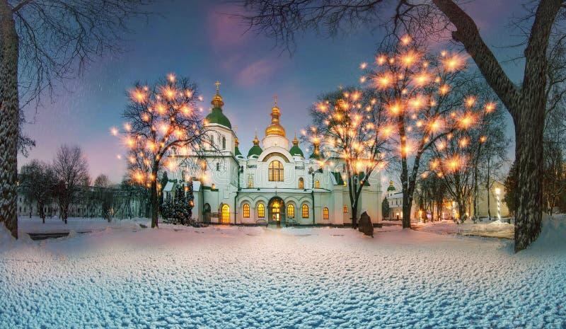 De winter in Sofia royalty-vrije stock foto's