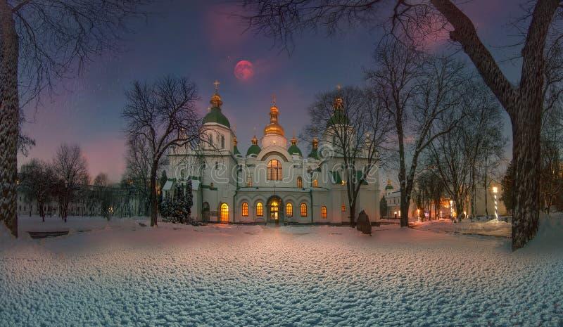 De winter in Sofia royalty-vrije stock foto