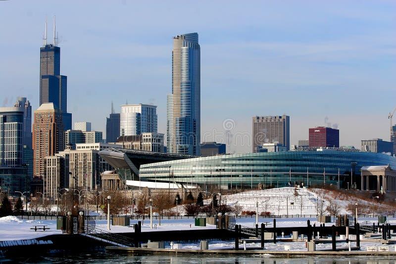 De Winter van Chicago royalty-vrije stock foto's