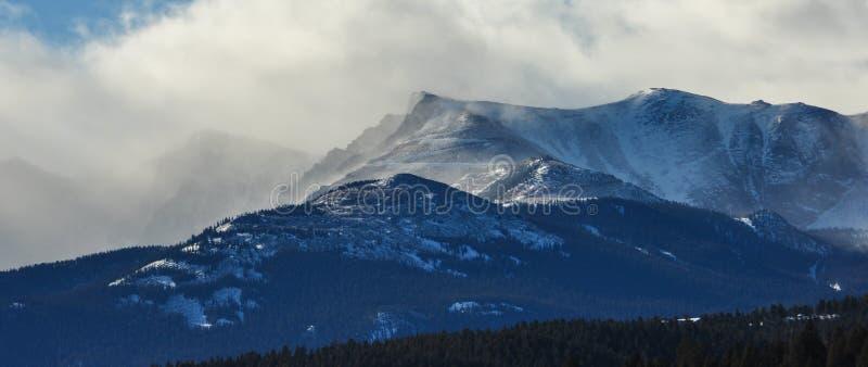De Winter van Colorado  stock fotografie