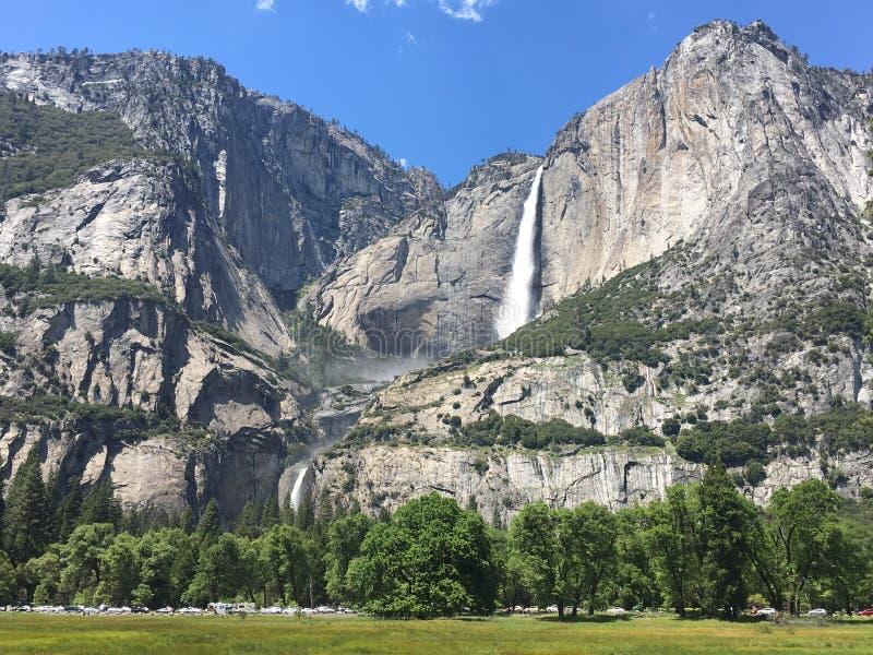 De winter in Yosemite royalty-vrije stock afbeelding