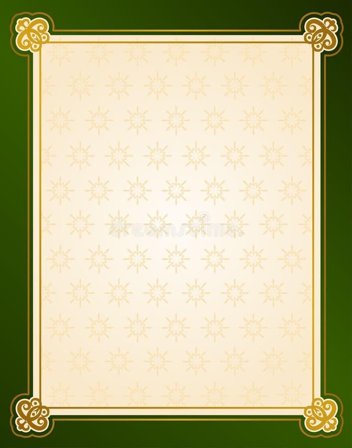 De winterachtergrond van de sneeuwvlok. royalty-vrije illustratie