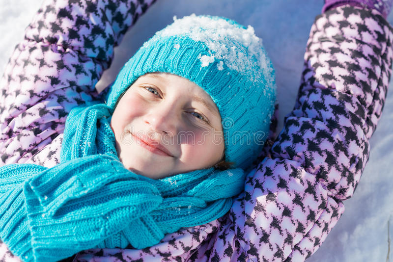 De winteractiviteit royalty-vrije stock foto's