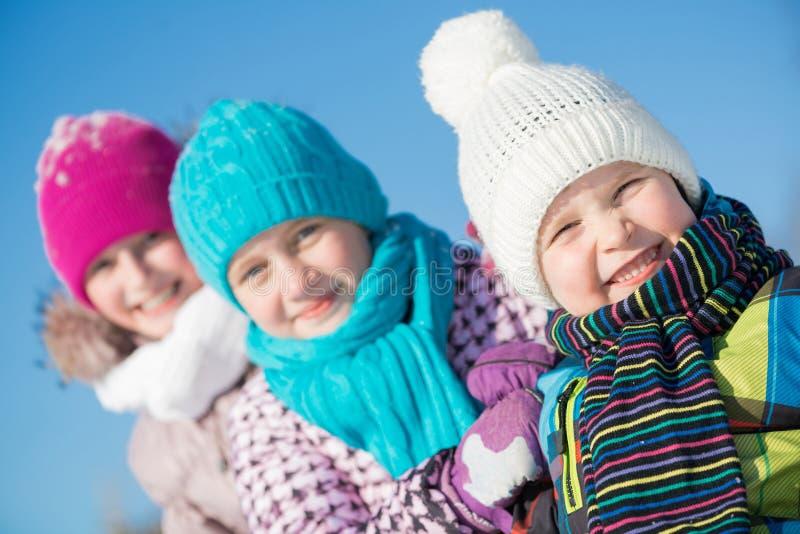 De winteractiviteit stock foto