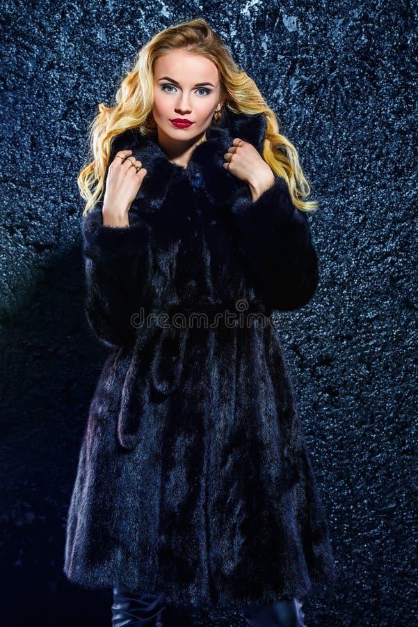 De winterbontjas royalty-vrije stock afbeeldingen