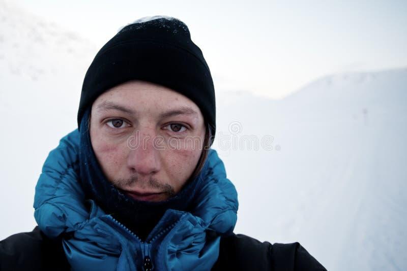 De winterexpeditie royalty-vrije stock foto's