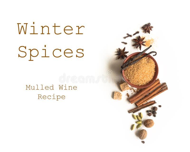 De winterkruiden stock fotografie