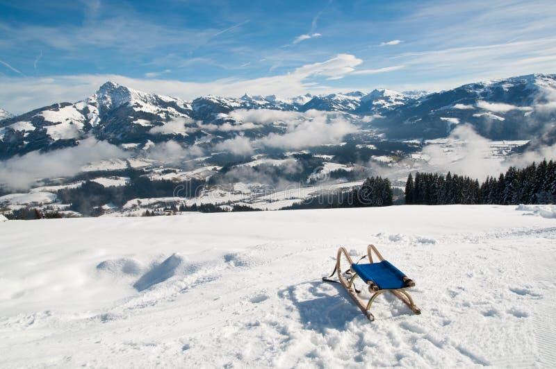 De winterlandschap royalty-vrije stock fotografie
