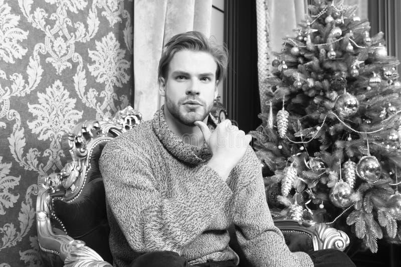 De wintermanier, stijlconcept stock afbeeldingen