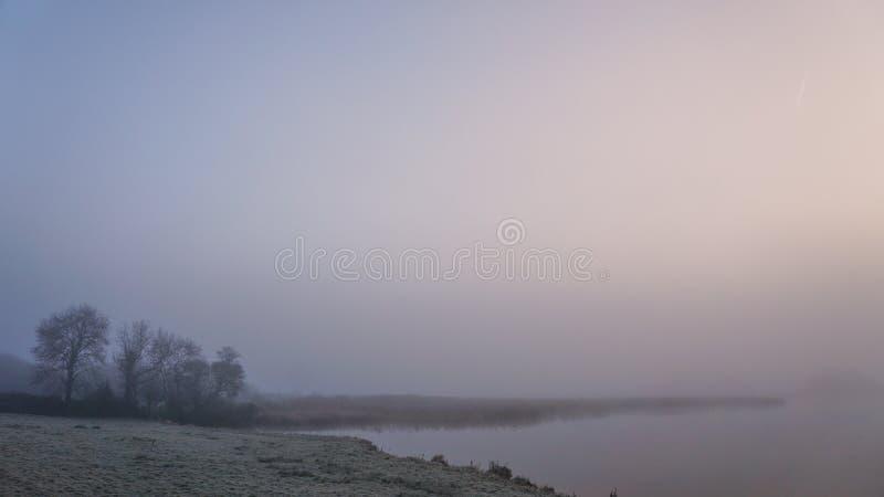 De winterochtend in Ierland 3 stock foto's
