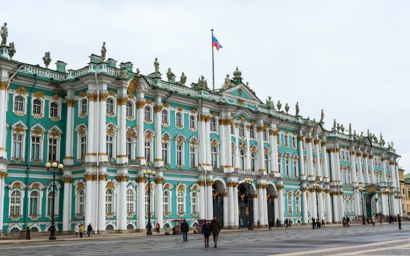 De Winterpaleis van heilige, Kluismuseum in Heilige Petersburg, Russi stock foto
