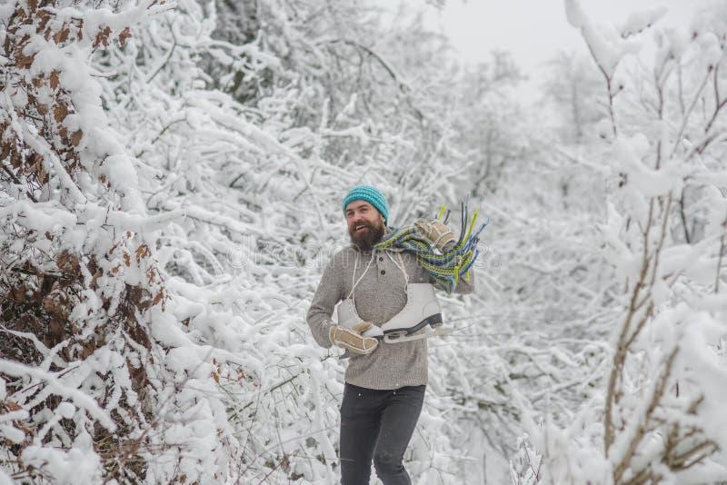 De wintersport en rust, Kerstmis royalty-vrije stock afbeeldingen