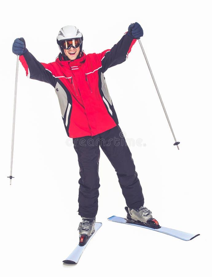 De wintersport, mens stock fotografie