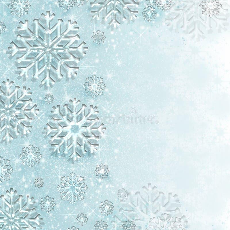 De wintersprookjesland stock illustratie