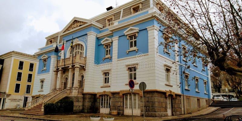 De winterstad Hall Loures, Portugal stock foto