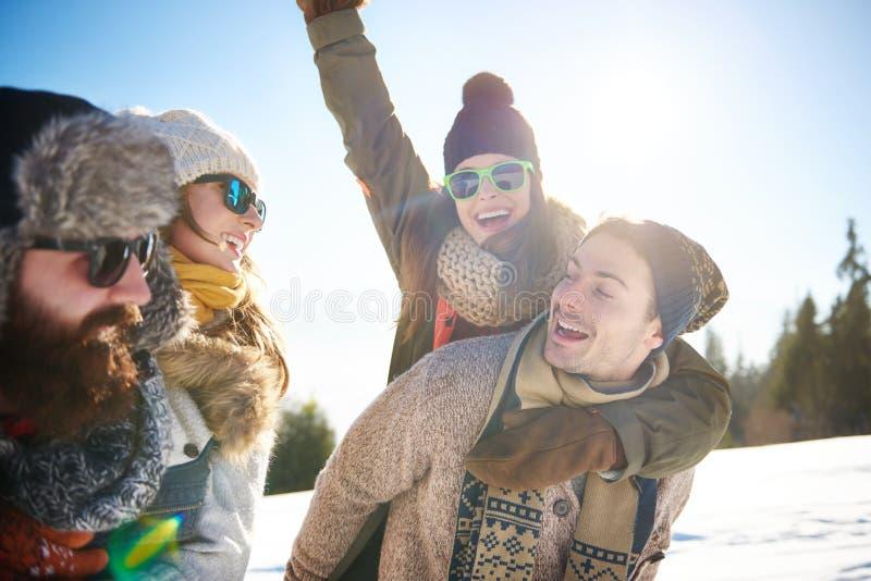 De wintervakantie royalty-vrije stock foto's